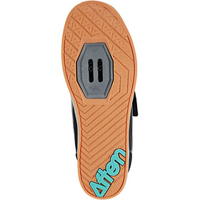 Afton Shoes Vectal Klickpedal Shoes Men black/turquoise